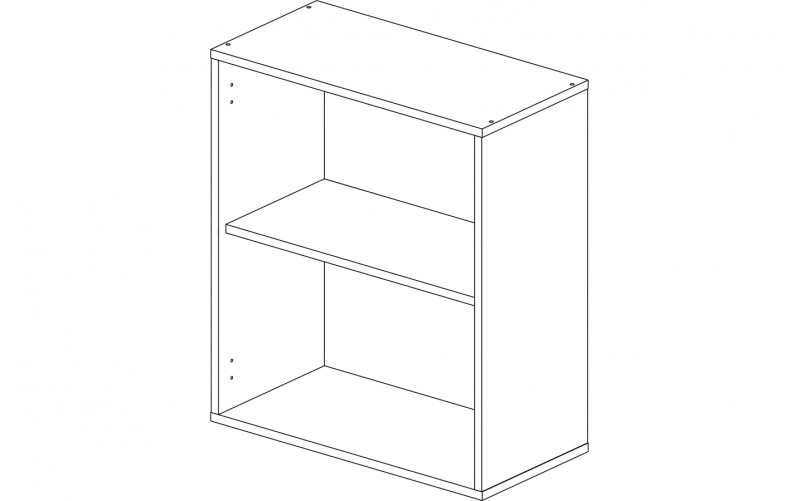 Корпус шкаф кухонный навесной 60 см.