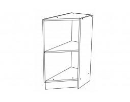 Корпус Кухонный рабочий торцевой стол правый ШНТ 300 R (Ф-20)