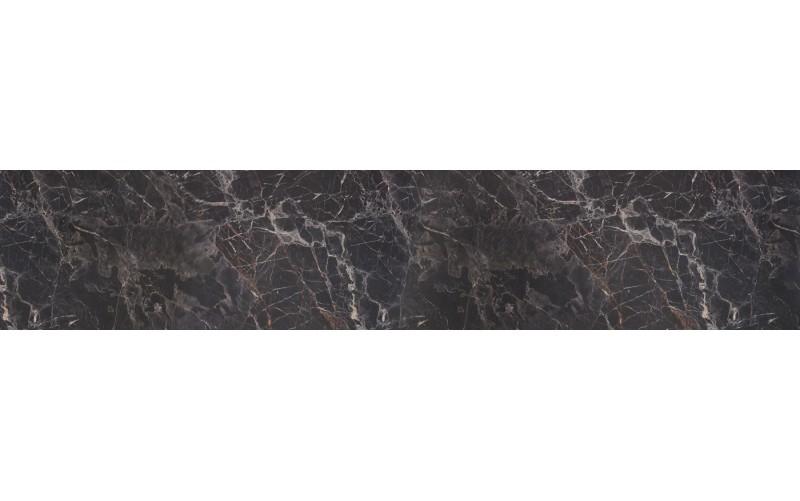"Столешница на кухню ""Мрамор чёрный 3029"" 28 мм."