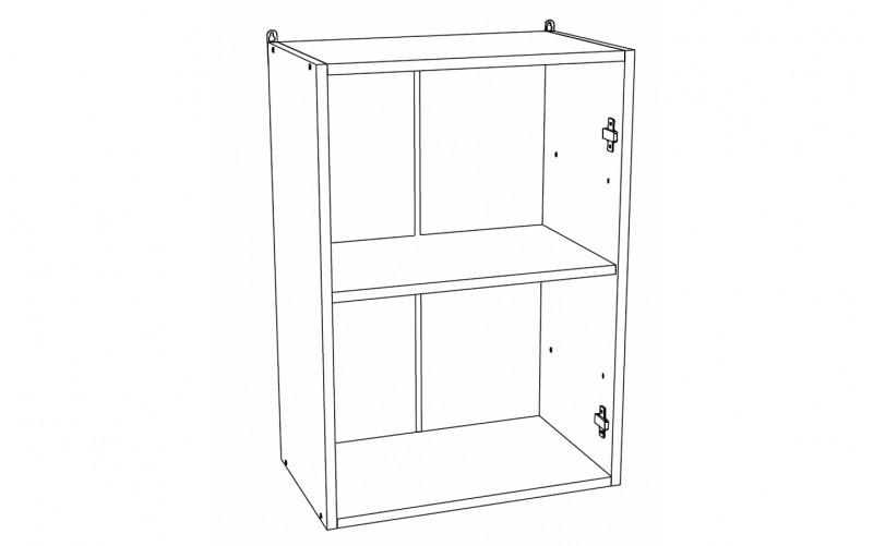 Корпус Шкаф кухонный навесной ШВ 500 (Ф-30, Ф-35)