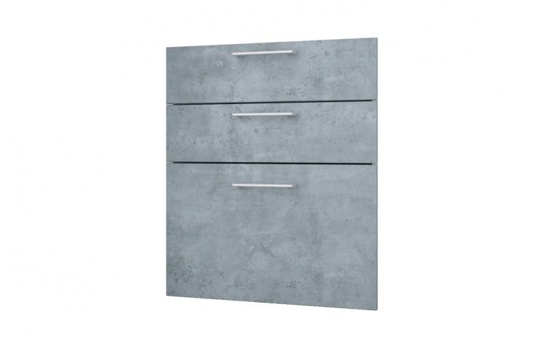 """Фасад-Панели для рабочего стола """"Лофт"""" Ф-60 - 3 ящика"""