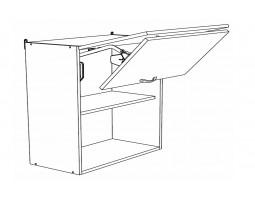 Корпус Шкаф верхний под вытяжку ШВГ 801 (Ф-87К)