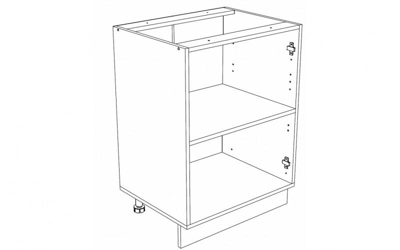 Корпус Кухонный рабочий стол ШН 600 (Ф-40, Ф-46)