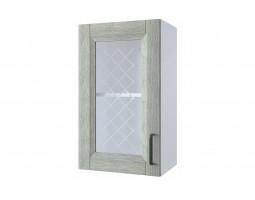 """Шкаф верхний витрина """"Винтаж"""" 40 см."""