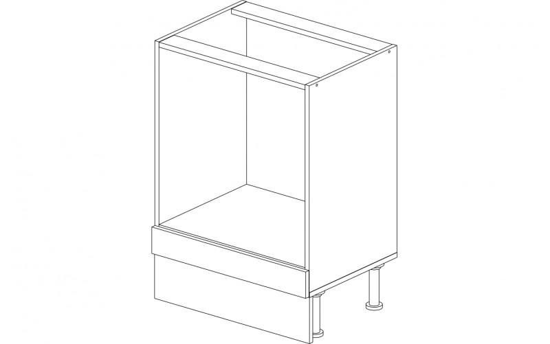 Корпус стола рабочего под духовку 60 см.