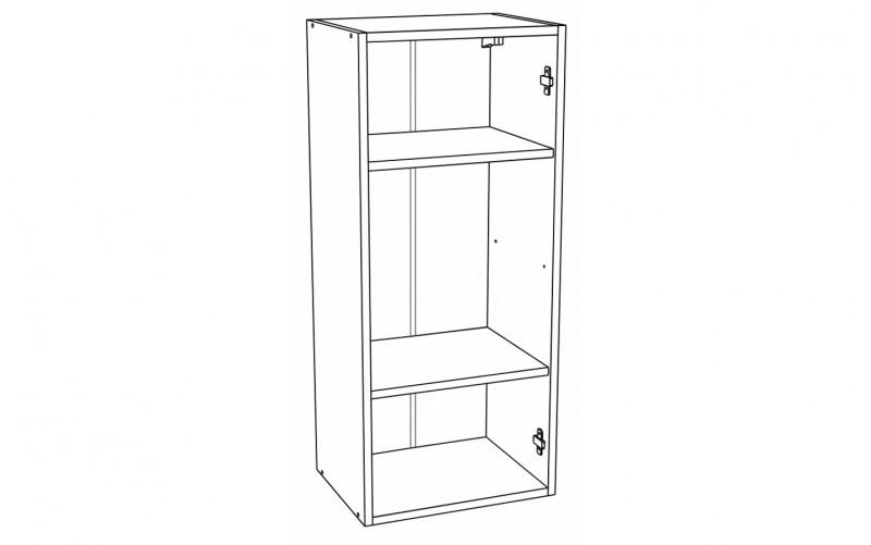 Корпус Шкаф кухонный навесной ШВ 409 (Ф-20Н, Ф-25Н)
