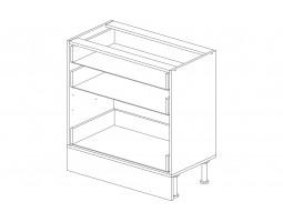 Корпус кухонный рабочий стол 80 см. с 3-мя ящиками