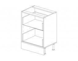 Корпус кухонный рабочий стол 60 см. с 2-мя ящиками