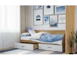 """Кровать 800 я 2-мя ящиками """"Лайт"""""""