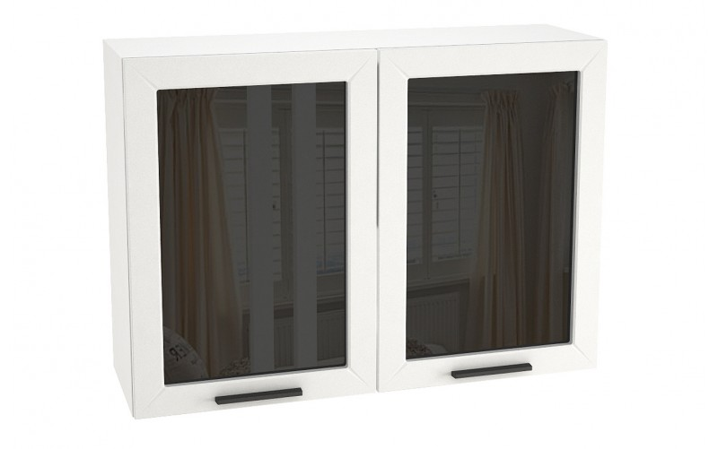 "Шкаф верхний витрина ""Глетчер"" ШВС 1000 (В 1000, Ф-75)"