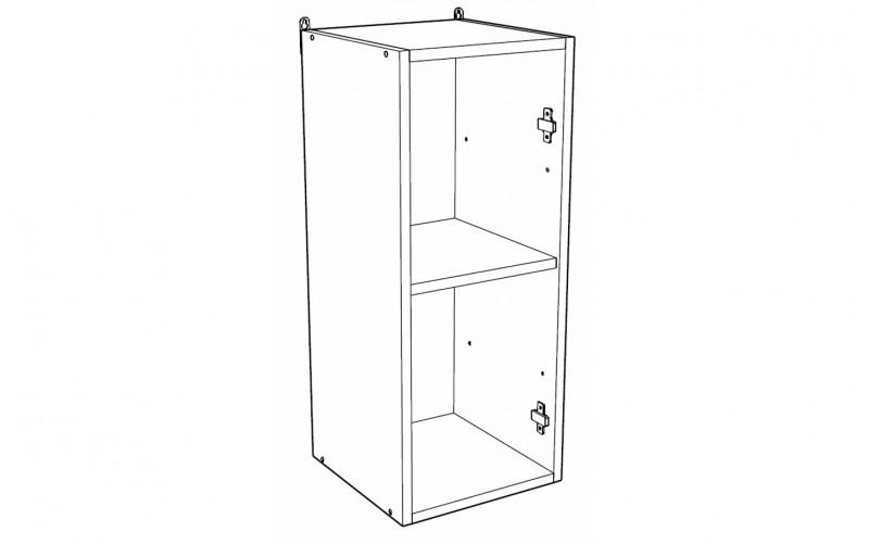 Корпус Шкаф кухонный навесной ШВ 300 (Ф-10, Ф-15)