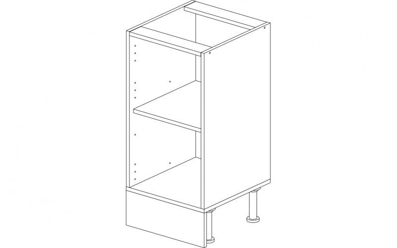 Корпус кухонный рабочий стол 40 см.