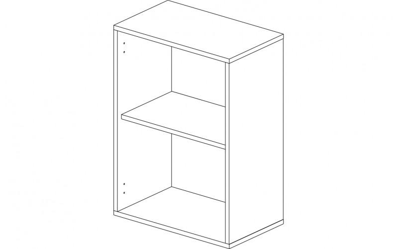 Корпус шкаф кухонный навесной 50 см.