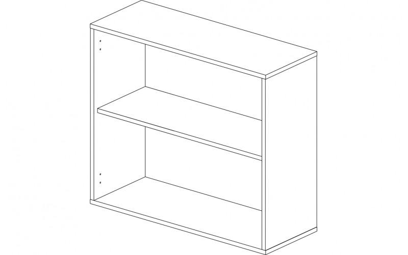 Корпус шкаф кухонный навесной 80 см.