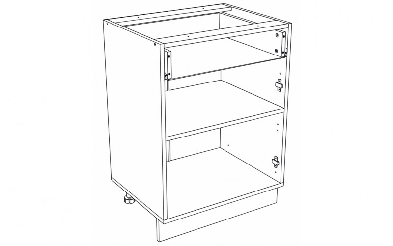 Корпус Кухонный рабочий стол ШН 601 M (Ф-41М, Ф-61)