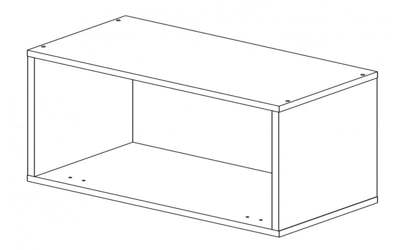 Корпус шкаф кухонный для вытяжки Газовка 80 см.