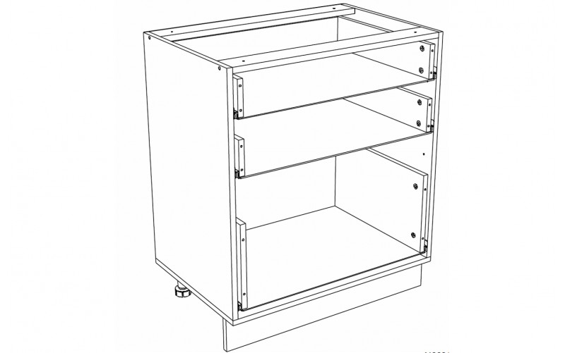Корпус Кухонный рабочий стол ШН 603 (Ф-43)