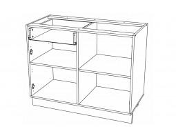 Корпус Кухонный рабочий стол ШН 1201 (Ф-48)