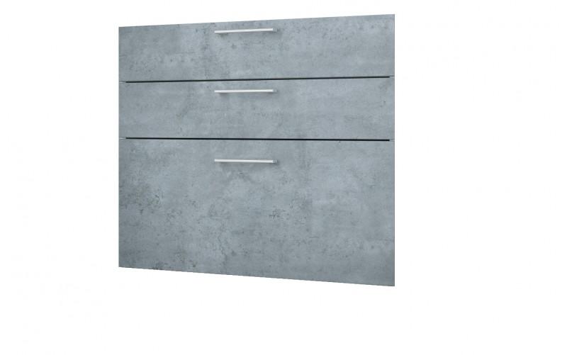 """Фасад-Панели для рабочего стола """"Лофт"""" Ф-80 - 3 ящика"""