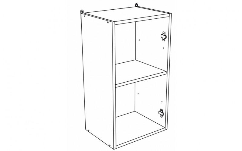 Корпус Шкаф кухонный навесной ШВ 400 (Ф-20, Ф-25)