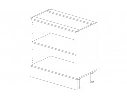 Корпус кухонный рабочий стол / мойка 80 см.