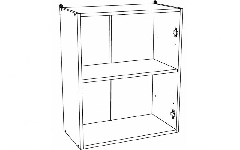 Корпус Шкаф кухонный навесной ШВ 600 (Ф-40, Ф-45, Ф-46)