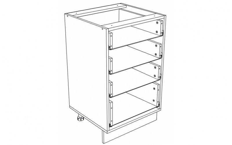Корпус Кухонный рабочий стол ШН 504 (Ф-34)