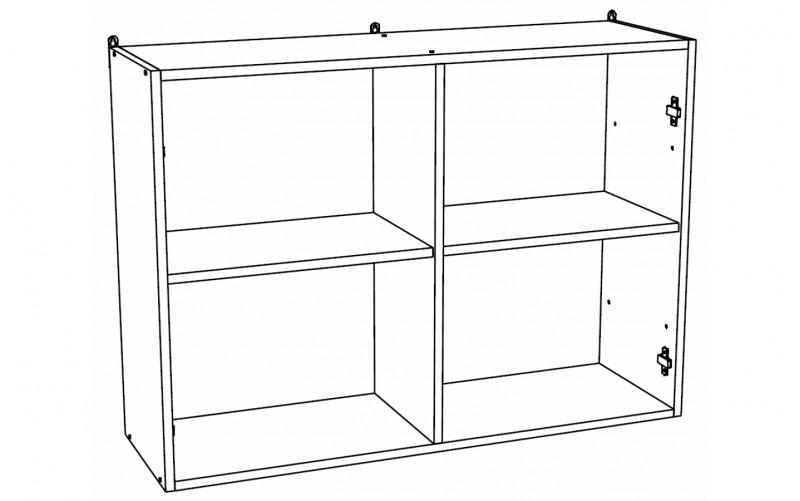 Корпус Шкаф кухонный навесной ШВ 1200 (Ф-47)