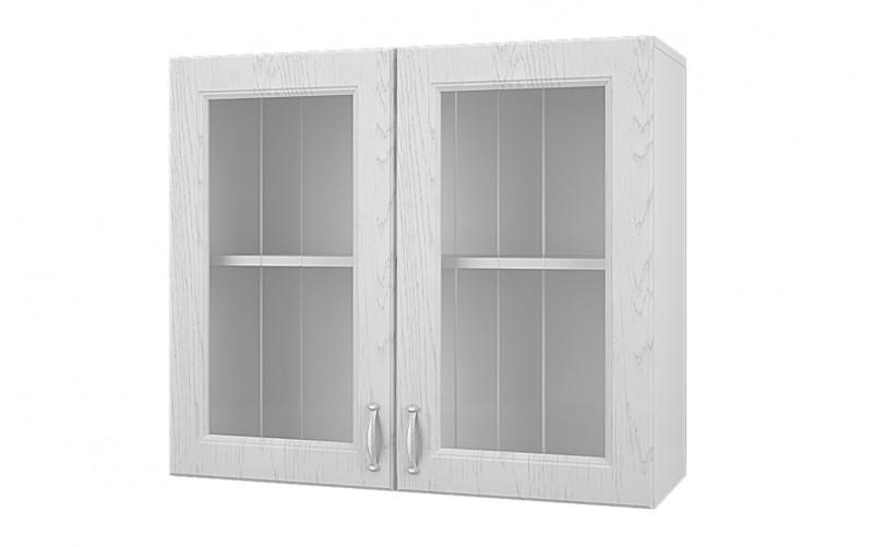"""Шкаф верхний витрина """"Принцесса"""" 80 см."""