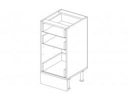 Корпус кухонный рабочий стол 40 см. с 3-мя ящиками