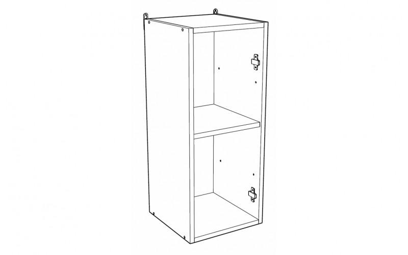 Корпус Шкаф кухонный навесной ШВ 350 (Ф-36)
