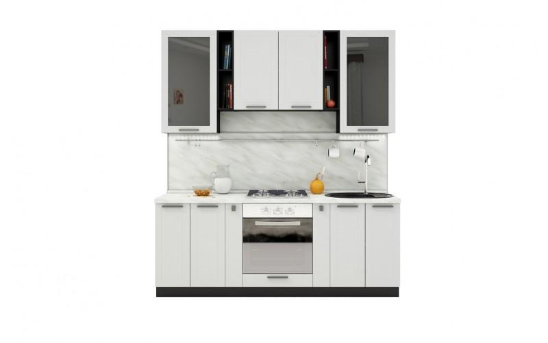 "Кухонный гарнитур ""Глетчер"" Комплектация 2.2 2100 мм."