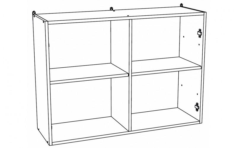 Корпус Шкаф кухонный навесной ШВ 1000 (Ф-70, Ф-75)