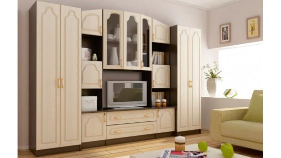 Стенка — удобная и функциональная мебель для гостиной