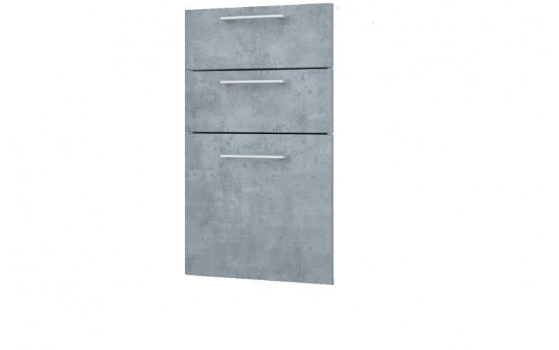 """Фасад-Панели для рабочего стола """"Лофт"""" Ф-40 - 3 ящика"""