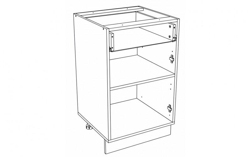 Корпус Кухонный рабочий стол ШН 501 (Ф-31)