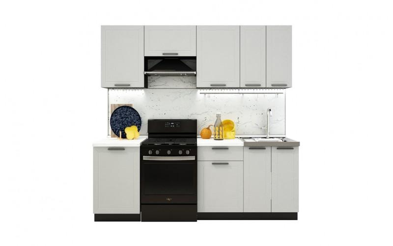 "Кухонный гарнитур ""Глетчер"" Комплектация 1.6 2200 мм."