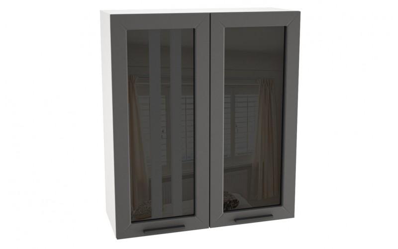 "Шкаф верхний витрина ""Глетчер"" ШВС 809* (В 809, Ф-55Н)"