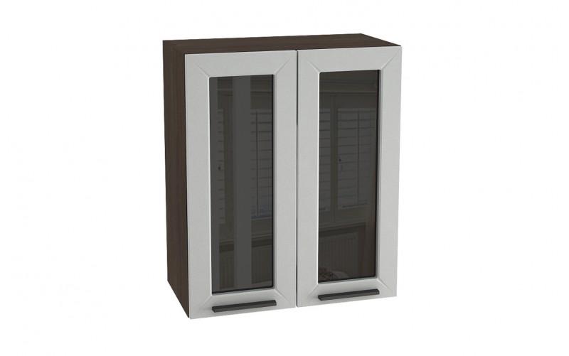"Шкаф верхний витрина ""Глетчер"" ШВС 600 (В 600, Ф-45)"