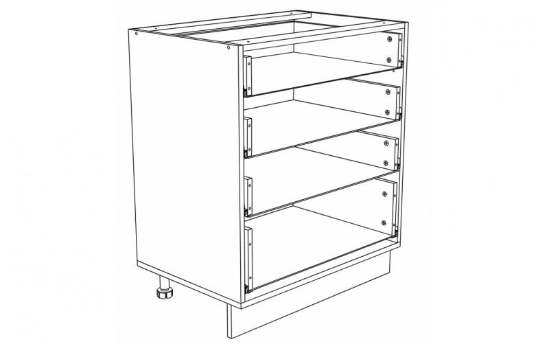 Корпус Кухонный рабочий стол ШН 804 (Ф-54)